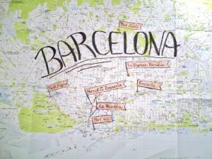 Our Barcelona Map